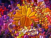 Realms of Stained Glass — Stok fotoğraf