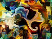 İç boya oyunu — Stok fotoğraf
