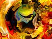 Game of Inner Paint — Stock Photo