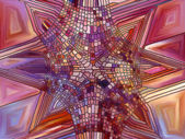 Colorful Stained Glass — Stock Photo