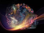 Inner Life of Data Cloud — Stock Photo