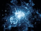 Energy of Network — Stock Photo