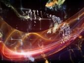 Paradigm of Data Cloud — Stock Photo