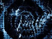Numeric Data Cloud — Stock fotografie