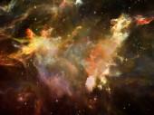 Glühen des Raumes — Stockfoto