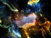 Synergies of Space — Stock Photo