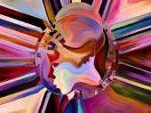 Advance of Inner Paint — Stok fotoğraf