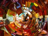 Toward Digital Stained Glass — Stok fotoğraf