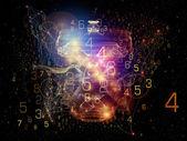 Conceptual Network — Stock Photo