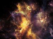 Wirtualny wszechświat — Zdjęcie stockowe