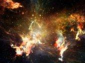 Virtual Space — Stock Photo