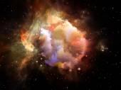 Vida interior del espacio — Foto de Stock