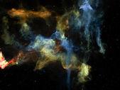 Virtual Cosmos — Stock Photo