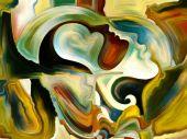 Metaphorical Inner Paint — Zdjęcie stockowe