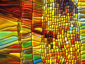 In Search of Stained Glass — Stock Photo