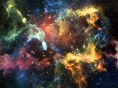 Elements of Space — Stock Photo