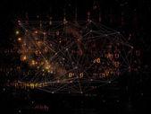 Unfolding of Network — Stock Photo