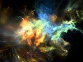 Digitale Kosmos — Stockfoto