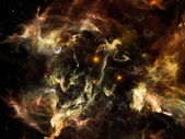 Lights of Space — Stock Photo