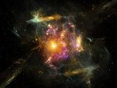 Vita interiore di spazio — Foto Stock