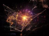 Computing netwerk — Stockfoto