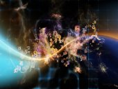 Inner Life of Data Cloud — Stok fotoğraf