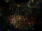Conceptuele gegevens wolk — Stockfoto