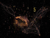 Visie van netwerk — Stockfoto