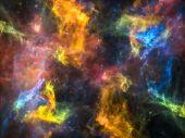 Inner Life of Cosmos — Stock Photo