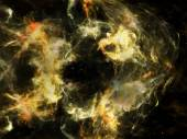 Visualization of Space — Stock Photo