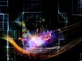 Visão da tecnologia — Fotografia Stock