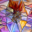 Synergies of Stained Glass — Stock Photo #63179353
