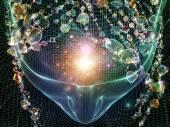 Mind Crystal — Stock Photo