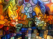 Return of Stained Glass — Stockfoto