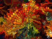 Energy of Stained Glass — Stok fotoğraf
