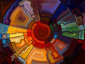 Conceptual Stained Glass — Stok fotoğraf