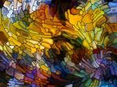 Forgotten Stained Glass — Stok fotoğraf