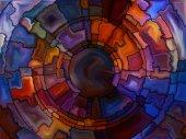 Return of Stained Glass — Stok fotoğraf