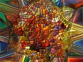 In Search of Stained Glass — Stok fotoğraf