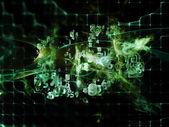 Advance of Data Cloud — Stock Photo