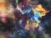 Universe Abstraction — Stock Photo
