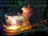 Propagation of Technology — Stock Photo
