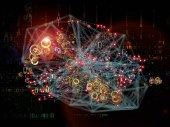 Inner Life of Network — Stock Photo