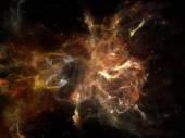 Luzes do espaço — Fotografia Stock