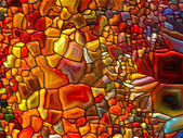 Conceptual Stained Glass — Stock Photo