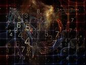 Conceptual Data Cloud — Stock Photo