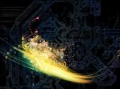 Visualization of Technology — Stock Photo