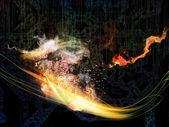 Elements of Technology — Stock Photo
