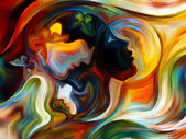 Diversity of Inner Paint — Stock Photo