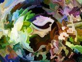 İç boya kaçış — Stok fotoğraf